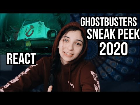 Ghostbusters 2020 Teaser Trailer REACTION!