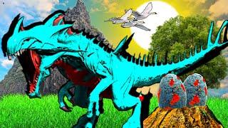O BEBÊ REAPER QUEEN E O ESTINTO MATADOR A HISTÓRIA! Dinossauro ARK DINOSAUR STORIES