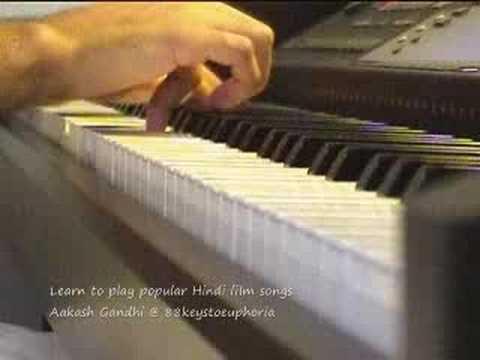 Jaadu Hai Nasha Hai (Jism) on Piano by Aakash Gandhi