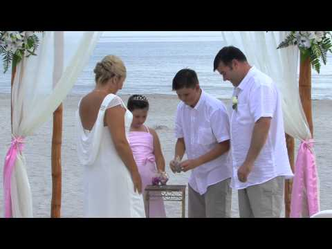 Beach Wedding Cocoa Beach 8/05/13