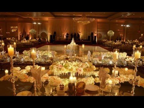 Candlelight Wedding Decorations