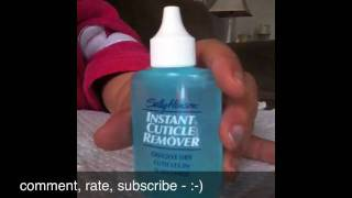 REVIEW - Sally Hansen Instant …