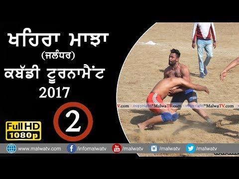 KHAIRA MAJJA (Kapurthala)   KABADDI TOURNAMENT - 2017   Full HD   Part 2nd