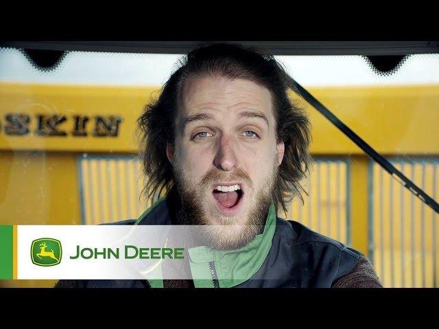 Tracteur John Deere 6R - Accélération