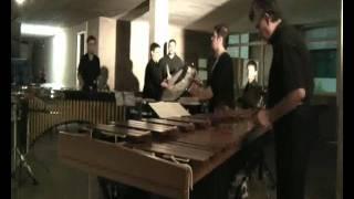 """Esecuzione di """"Ghanaia"""" per Marimba ed Ensemble di Percussioni."""