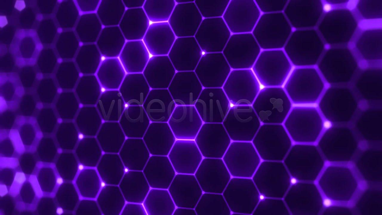 Hex Pattern Flickering - Abstract VJ Loop - YouTube