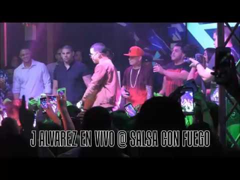 J Alvarez Performing Live @ Salsa Con Fuego