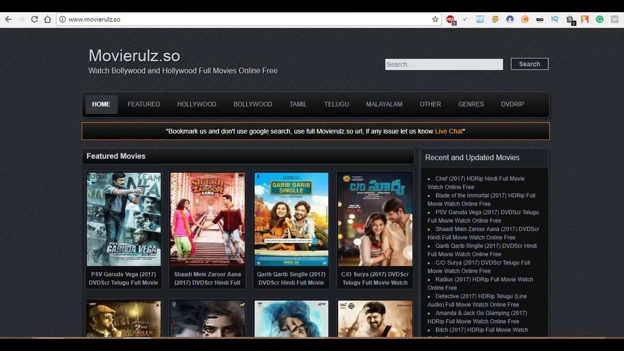 How to download latest Telugu movies | 2018 Upcoming Version - YouTube