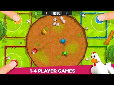 Все мини игры про Стикменов в одной игре! Stickman Party 1,2,3,4 Player Games Free