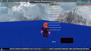 ROBLOX waterfall v1 mod menu
