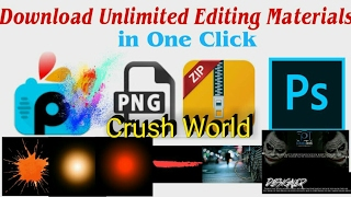 Download Unlimited PNG for PicsArt in One Click