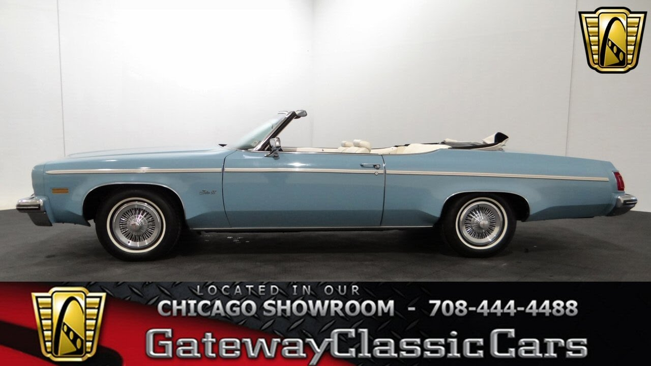 1975 oldsmobile delta 88 convertible gateway classic cars chicago