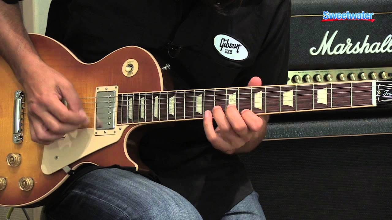 gibson les paul traditional 2013 electric guitar demo sweetwater sound youtube [ 1280 x 720 Pixel ]