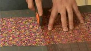 How To Make A Quilted Table Runner : Cutting Block Pieces For A Quilted Table Runner
