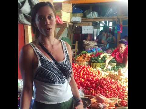 Market Day in Antigua, Guatemala