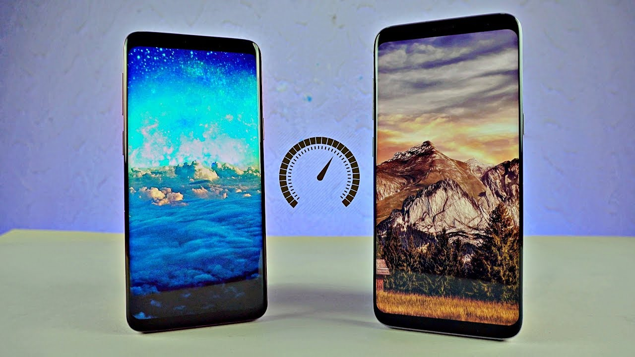 Samsung Galaxy S9 and Samsung Galaxy S8 - Speed Test!