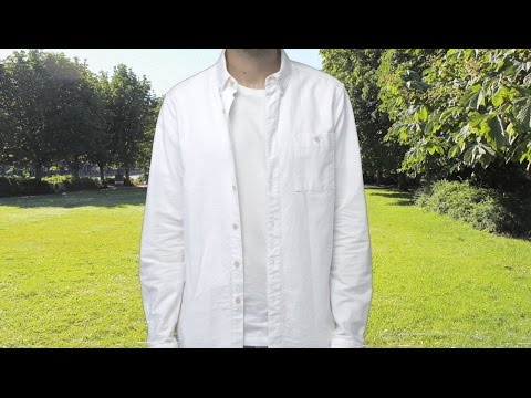 How To Clean A White Shirt Asos Menswear Tutorial