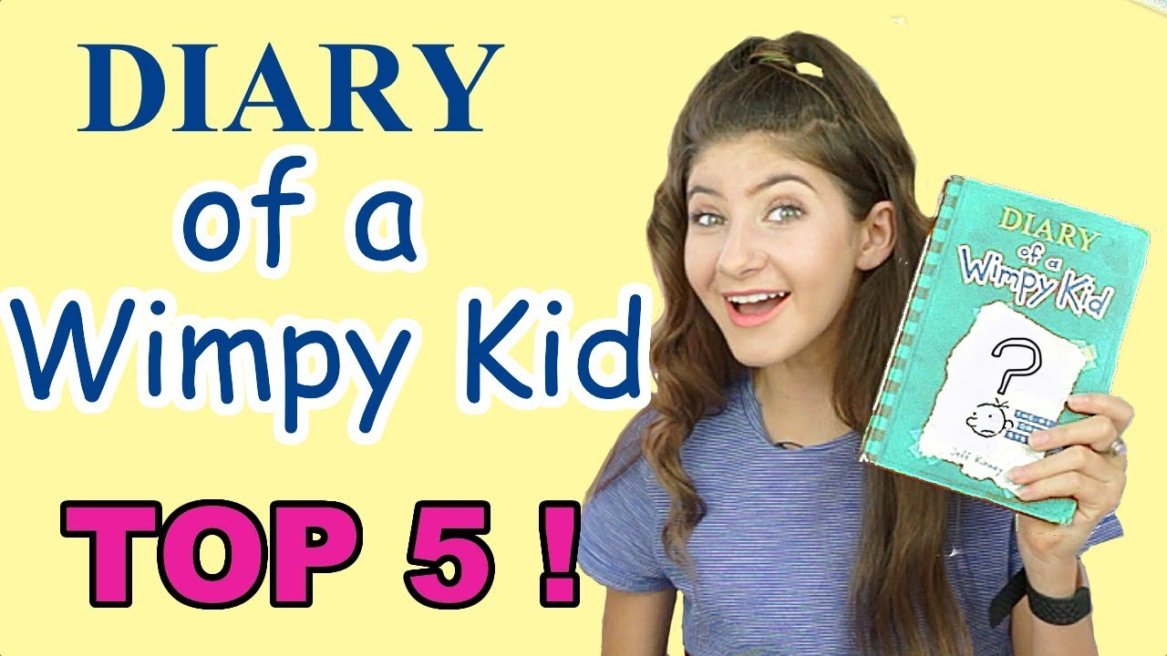 Diary Of A Wimpy Kid Books Ranked Youtube