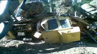Logging equipment vandalised