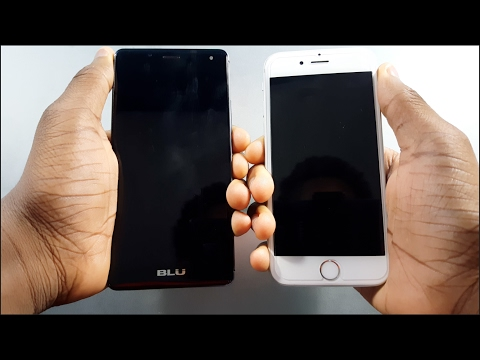 BLU R1 HD vs iPhone 6s Speed Test! Which Is Faster? [4K]