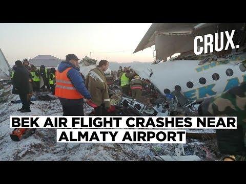 Kazakhstan Plane Crash: Bek Air Plane Crashes Near Almaty Airport