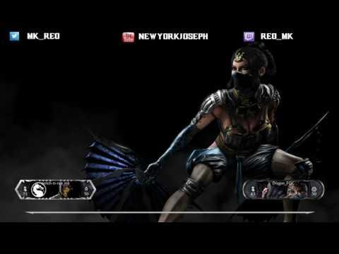 REO (Kung Jin - Ancestral) VS Dragon (Kitana - Royal Storm) Online Set