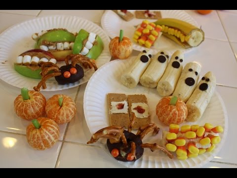 Fun & Crafty Kids Halloween Snacks