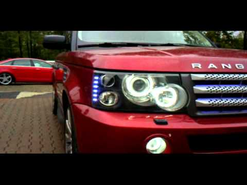Wired Ridez Range Rover Sport Red Youtube