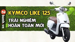 Gambar cover Kymco Like 125 ABS - Trải nghiệm xe ga dành cho phái đẹp