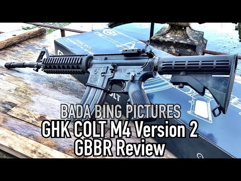 GHK Colt M4 Version 2 GBBR Review - YouTube