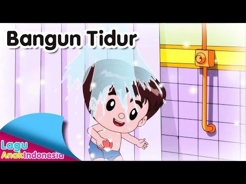 BANGUN TIDUR | Lagu Anak Indonesia
