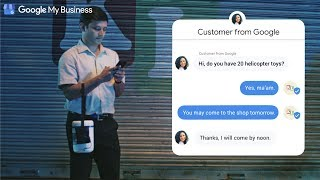 Chat with customers on Google | Google My Business