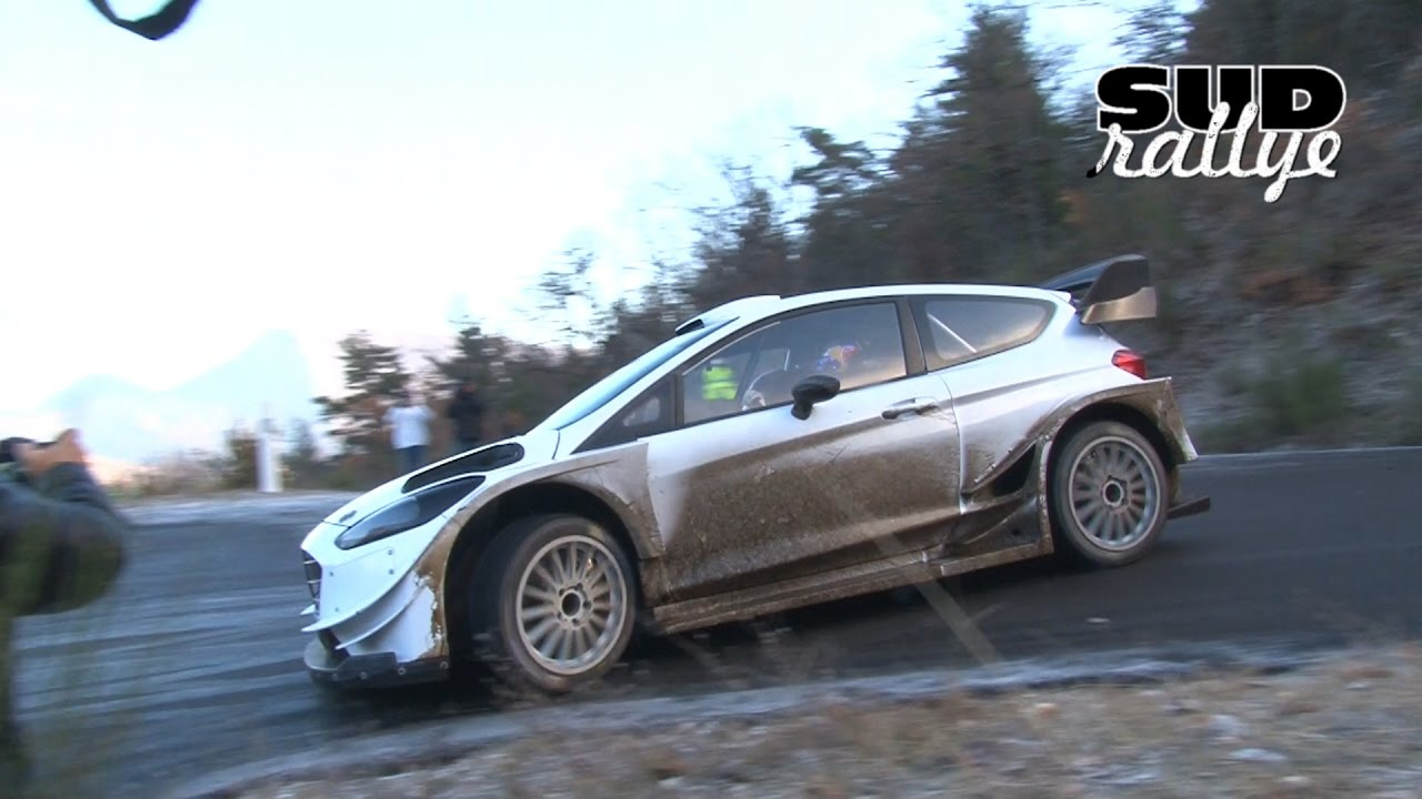 test rallye monte carlo 2017 jour 1 sebastien ogier ford fiesta wrc hd youtube. Black Bedroom Furniture Sets. Home Design Ideas