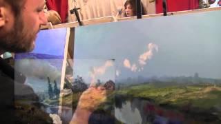 Игорь Сахаров видеоуроки масляной живописи