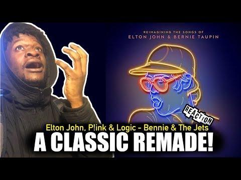 Logic ft P!nk & Elton John - Bennie and the Jets (Audio) REACTION!