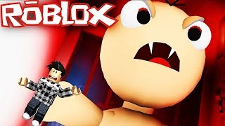 I HAVE TO ESCAPE THE WORST BABY IN THE WORLD! Roblox