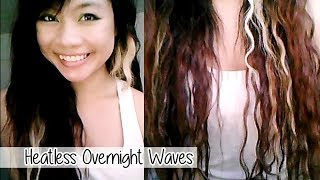 Heatless Overnight Small Waves
