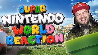 Domtendo reagiert auf SUPER NINTENDO WORLD Musikvideo Galantis ft. Charli XCX - WE ARE BORN TO PLAY