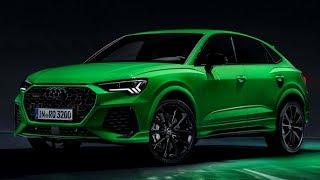 2020 Audi RS Q3 Sportback(2020) SUV - Design, Exterior, Driving