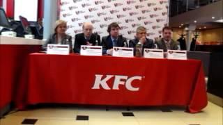 В Воронеже открылся первый в Черноземье ресторан популярной сети быстрого питания KFC