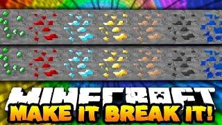 MAKE IT & BREAK IT! | Minecraft 1.10 Custom Puzzle Map #1