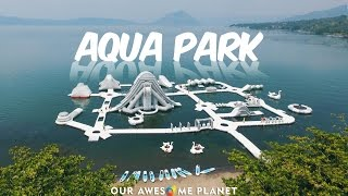 Aqua Park in Taal Lake!