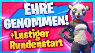 Funniest RUNDENSTART + My EHRE is taken | Fortnite Battle Royale