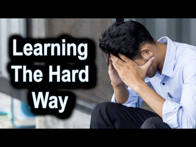 Learning the Hard Way - Ecclesiastes 2 – August 20th, 2020