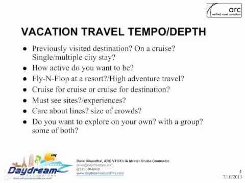 Vacation Planning Questions Youtube
