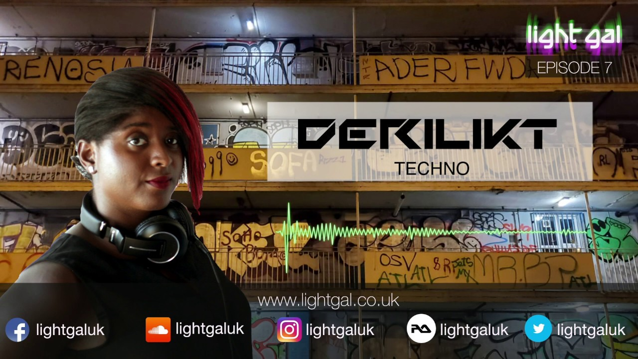 New Mix - DERILIKT Techno 7 - Listen Now!