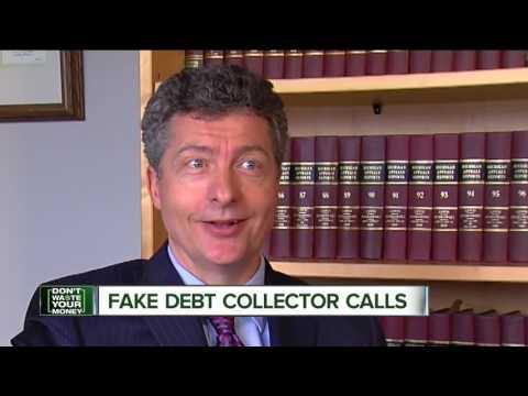 Fake debt collector calls