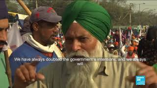 Indian farmers dig in over agricultural reform protests