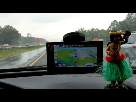 Driving to Peachtree City Georgia... I sing a lot!!!