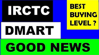 IRCTC & DMART ( Good News )   Best Buying LEVELS in FALLING MARKET ??   STOCK MARKET news by SMKC